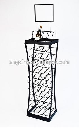 Custom Made Wire Display Rack for Beverage