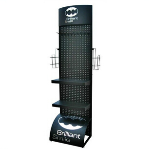 Exhibition Stand Accessories : Metal display rack display stand for mobile accessories