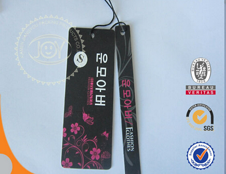 paper luggage tags customized with die cut luggage tags printing