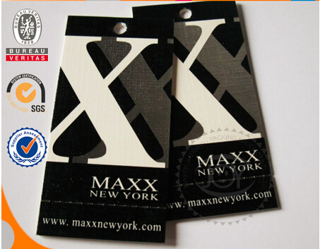 Cheap China Hot Sale Clothing Label&High Quality Paper Clothing Label
