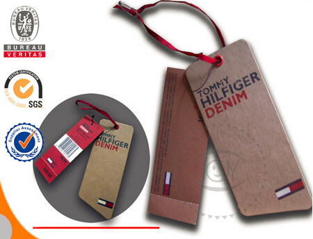 Custom Thick Cardboard Hang Tag with Logo Tag Printing