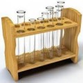 custom wooden test tube rack for Hospital test tube
