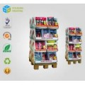 Point of Purchase Big Paper POS 1/4 Pallet Display Supermarket Promotion