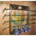 Wood Golf Club Display Rack for 4 Rare Scotty Cameron Putters & 4 Headcovers