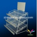 Commercial retail bakery display stand rack for bread