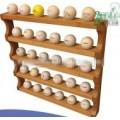 Bamboo Golf Ball Display Rack