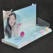 Acrylic Cosmetic Counter POP Display 007