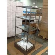5 Layer Glass Trade Show Retail Shop Stand Marketing Displays